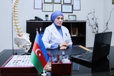 Vertebroloq Dr.Səriyyə Hüseynova